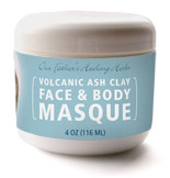 Volcanic Ash Clay Face & Body Masque
